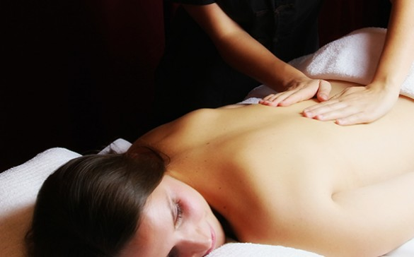 Le massage indien au Royal Spa